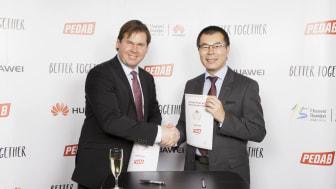 Huawei storsatsar i Sverige  – lanserar samarbete med IT-distributören Pedab