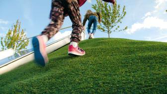 Saltex Active och Safegrass Eco - ett fullt återvinningsbart konstgrässystem