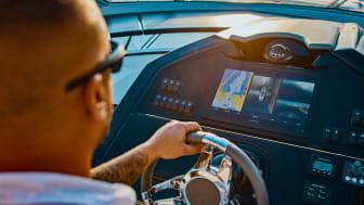 Zu jeder Zeit den Rundum-Blick haben: Das Garmin Surround View Marinekamera-System sendet eine 360-Grad-Ansicht in Echtzeit an kompatible Kartenplotter oder Multifunktionsdisplays.