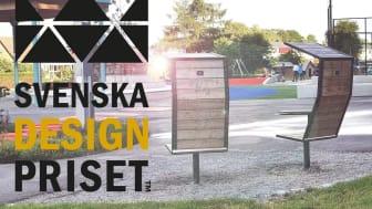 Det är med kontorsstolen för utomhusbruk, The Bug, som Lovisa Pettersson med sitt bolag Lovisa of Sweden nominerats i den prestigefyllda tävlingens kategori Identitet - Produktdesign.