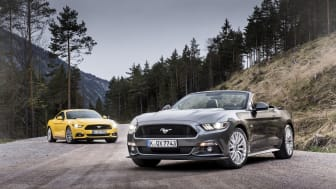 Ford Mustang range