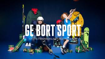 Intersports julkampanj har fokus på barnen och idrotten