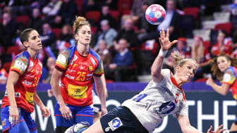 Heidi Løke og Norge spiller sine kamper i gruppespillet klokken 12.30. FOTO: Ritzau Scanpix