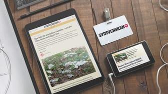 Sommaren 2017 genomförde vi en native-kampanj i Sydsvenskan för Malmborgs. Syftet var att informera kunderna om butikernas miljöengagemang.