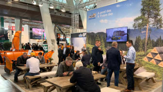 Trejons stand on Agritechnica.