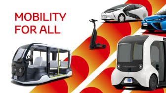Toyota med bredt spekter av mobilitetsløsninger i Tokyo 2020 inkludert en rekke elektriske kjøretøy
