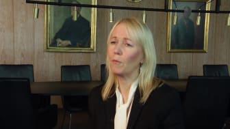 Kathrine Löfberg, mottagare av Guldklubban i klassen onoterade bolag 2019