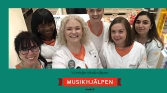 Kronans Apotek stödjer Musikhjälpen 2018.