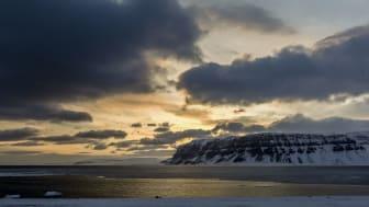 Tempelfjorden på Svalbard