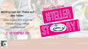 """Bundesweiter Rollout und """"Teller-Story""""-Mitmach-Aktion der Initiative """"Einmal ohne, bitte"""""""