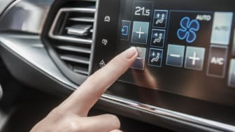 Den intuitiva multifunktions-touch screen i nya Peugeot 308