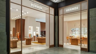 Hermès nya flaggskeppsbutik på NK. Fotograf: Patrik Lindell