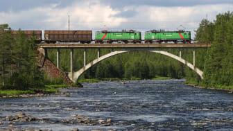 Green Cargo och ScandFibre Logistics i nytt logistikupplägg