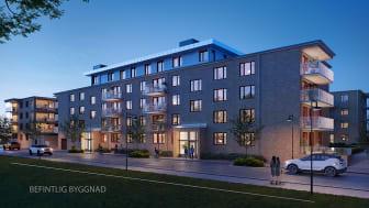Nu startar försäljningen av fler moderna lägenheter i centrala Eskilstuna