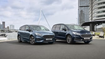 Ford lanserer nå S-MAX og Galaxy hybrid