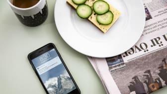 Notiser med MyHeadsapp för just din resa, innan du påbörjar den.