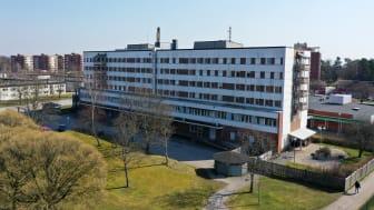 Höghus vid Kronogårds torg