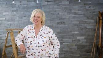 Suzanne Axell, ny programledare i Café Rosella. Foto: Pressbild/Johanna Norin
