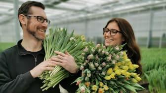Anders och Amanda Alverbäck, Alverbäcks blommor