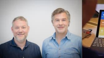 Cuvivas grundare Henrik Cederqvist och Fredrik Koffner
