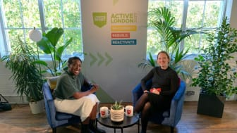London Sport's Jennie Rivett conducted a Q&A with Active London host Jeanette Kwakye