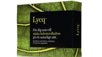Lycq- effektiv och naturlig kolesterolsänkande tablett