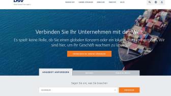 DSV präsentiert sich mit neuer Website
