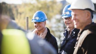 Ola Malm från Arkitektbolaget berättar om Strandsnäckan, ett av Växjös mest prestigefulla träbyggnadsprojekt.