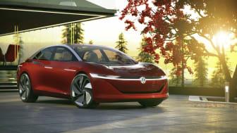 I.D. Vizzion konceptbilen er et realistisk bud på fremtidens luksussedan fra Volkswagen