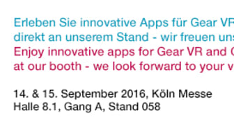 APPSfactory @ dmexco 2016