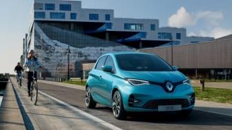 Nya Renault ZOE med längre räckvidd och mer prestanda