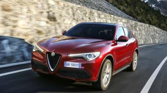 Goodyears Eagle F1 Asymmetric 3 SUV Ultra-High Performance-dekk valgt av Alfa Romeo for den nye Stelvio