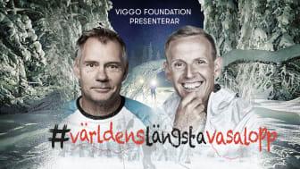 Komikern Måns Möller och längdcoachen Christer Skog ska åka världens längsta Vasalopp, ett världsrekordförsök - 10 Vasalopp på 10 dagar. Beräknad start 12 februari.