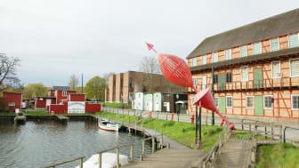 De nya bostäderna får ett fantastiskt, centralt läge intill Malmös kanaler.
