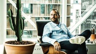 Adm. direktør Martin Thorborg fra Dinero glæder sig over, iværksætteriet kun mistede pusten midlertidigt under coronakrisen. Særligt positivt er stigningen i antallet af enkeltmandsvirksomheder etableret i juni efter tre måneder med fald.
