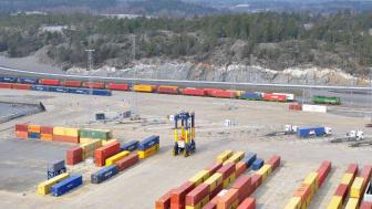 Green Cargo och Containerships utökar samarbetet med ny järnvägspendel