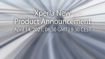 Sony bjuder in till produktlansering av nya Xperia