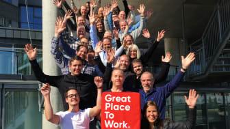 Fornøyde medarbeidere gir godt arbeidsmiljø og lønnsom utvikling i Berggård Amundsen.