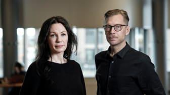 Matilda Sandberg och Martin Grander står bakom en ny rapport om trångboddheten i Malmö.
