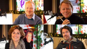 GJESTEPROGRAMLEDERE PÅ JULEKANALEN P7 KLEM: Kurt Nilsen, Ole Edvard Antonsen, Sissel Kyrkjebø og Odd Nordstoga er blant kjendisene som presenterer sine musikalske favoritter på Julekanalen P7 Klem. FOTO: P4