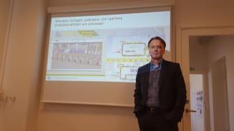 Dick Nyström, CEO Summ System.