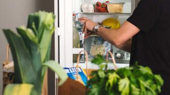 Fri mat rakt in i kylskåpet under ett år – Einar Mattsson samarbetar med MatHem i brf Skulpturparken