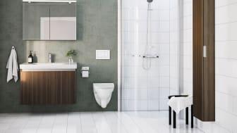 IDO Light on suunniteltu vastaamaan pieniin ja suuriin kylpyhuoneen haasteisiin.