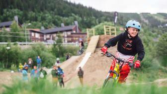 Kidsaktiviteter på Åre Bike Festival