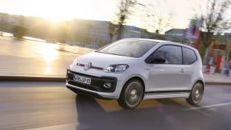 up! GTI er udstyret med en velklingende turbomotor med 115 hk