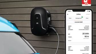 Appen hjälper tjänstebilsföraren att få ersättning för laddning.