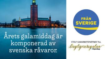 Ursprungsmärkningen Från Sverige är stolt samarbetspartner till Dagligvarugalan 2019 för andra året i rad.