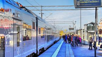 Rekordhög tillförlitlighet för persontågen