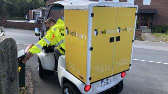 Med det nye el-kjøretøyet blir levering både miljøvennlig og effektiv