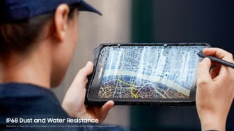 Galaxy Tab Active2 - IP68 Dust and Water Resistance